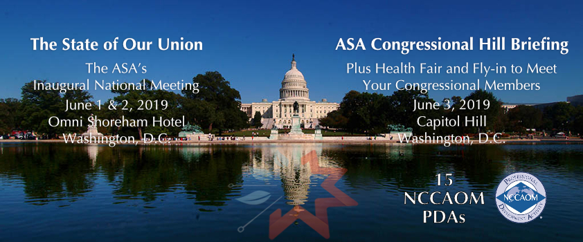 Acupuncture And Oriental Medicine Go To Washington DC
